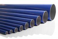 Aluminiumsrør blå for aluminiums trykluftrørsystem