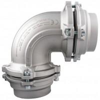 Vinkel for aluminiums trykluftrørsystem