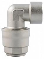 Vinkel indvendigt gevind for aluminiums trykluftrørsystem
