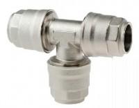 Tee-stykke for aluminiums trykluftrørsystem