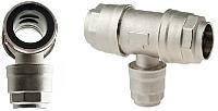 Reduktions-tee for aluminiums trykluftrørsystem