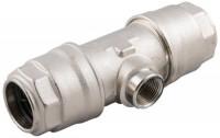 Reduktions-tee med indvendigt gevind for aluminiums trykluftrørsystem
