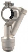 Anboringsbøjle for aluminiums trykluftrørsystem