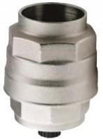 Slutmuffe med kondensaftap for aluminiums trykluftrørsystem