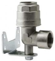 Vægudtag enkelt for aluminiums trykluftrørsystem