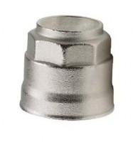 Slutmuffe for aluminiums trykluftrørsystem