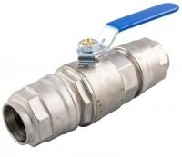 Kuglehane for aluminiums trykluftrørsystem