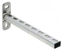 Skinnekonsol til ophæng for aluminiums trykluftrørsystem