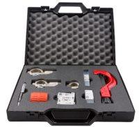 Værktøjskasse for aluminiums trykluftrørsystem