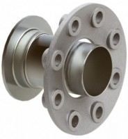 Flangerør for aluminiums trykluftrørsystem